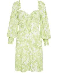 Faithfull The Brand Dress Arianne Mini Dress - Verde
