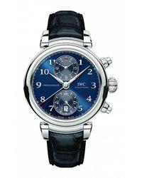 IWC Schaffhausen DA Vinci Chronograph Watch - Blau