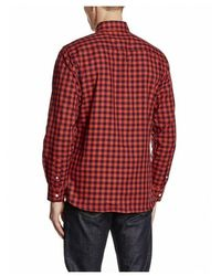 El Ganso Camisa Cuadro Vichy Rojo