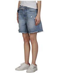 Ganni Shorts Azul