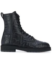 Fendi Biker Boots - Zwart