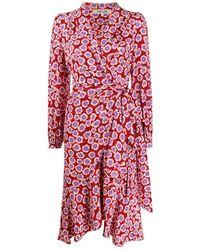 Diane von Furstenberg Dress - Roze