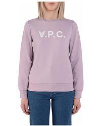 A.P.C. Sweatshirt - Paars