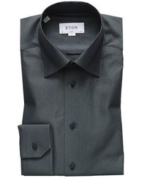 Eton of Sweden Slim Fit Shirt - Grijs