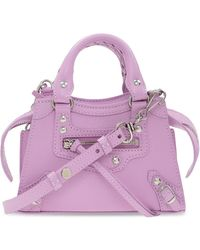 Balenciaga Neo Classic City Shoulder Bag - Roze