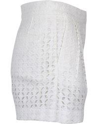 Vivetta Shorts Ms130121Dz Blanco