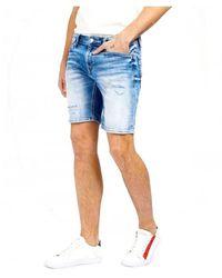 Silvian Heach Shorts Jeans - Blau