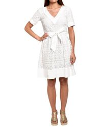 Rene' Derhy Abrege Dress - Wit