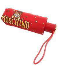 Moschino Ombrello Retraibile Toy Constellation Compact O22mo16 8323 - Rood