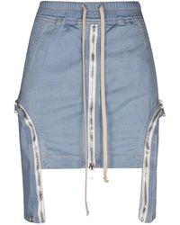 Rick Owens Skirt - Bleu