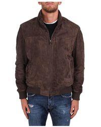 Enrico Mandelli Jackets And Jackets Man - Marron