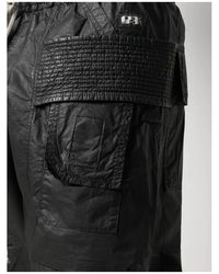 Rick Owens - Creatch Cargo Drawstring Negro - Lyst