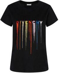 Givenchy T-shirt Bw707y3z3r 001 - Zwart