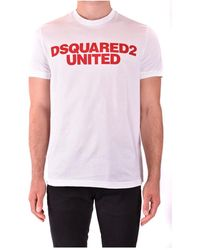 DSquared² - T-shirt - Lyst
