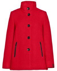 Milo Coats Coat - Rood