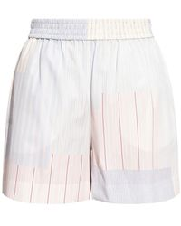 See By Chloé Pantaloncini a righe - Bianco