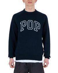 Pop Trading Company Knitwear - Bleu