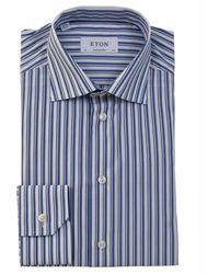 Eton of Sweden Contemporary Fit Overhemd - Blauw