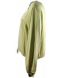 Maliparmi Camiciaa righe Verde