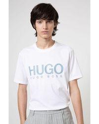 BOSS by Hugo Boss - T-shirt Blanco - Lyst
