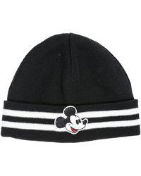 Gcds Men's Wool Beanie Hat - Zwart