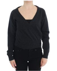 Dolce & Gabbana Cashmere Sweater Pullover Wrap - Grijs