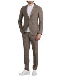 Tagliatore Suit - Bruin