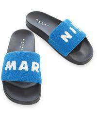 Marni Sandalia Azul