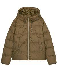 Marc O'polo Hooded Puffer Jacket - Bruin