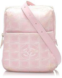 Chanel New Travel Line Crossbody Bag - Rose