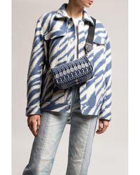 ACTUALEE Moon shoulder bag Azul