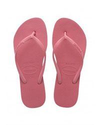 Havaianas Slim Flatform Shoes - Roze