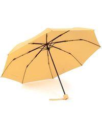 Piquadro Windproof Mini Umbrella Amarillo