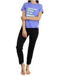Ecoalf T-shirt - Blauw