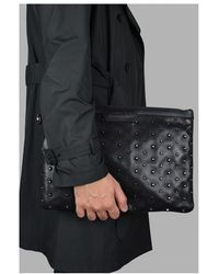 Jimmy Choo Derek clutch bag Negro