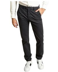 Hartford Tobby Gingham Trousers - Blu