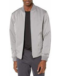 Michael Kors Jacket Gloomy Full Zip Flight/bomber - Grijs