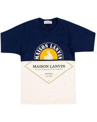 Lanvin T-shirt - Blauw
