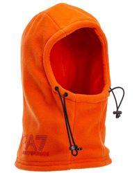 EA7 Knit Ski Mask - Oranje