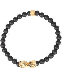 Northskull Skull Bracelet Negro