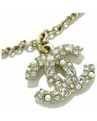 Chanel Vintage Bracelet d'occasion - Gris