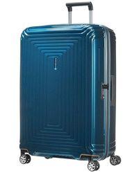 Samsonite Suitcase Neopulse 75 Cm - Blauw