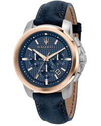 Diane von Furstenberg Watch UR - R8871621015 - Bleu