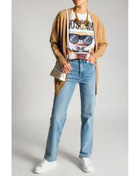 Moschino Cashmere cardigan Beige - Neutro