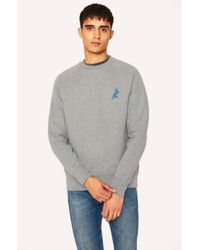 PS by Paul Smith - Dino Sweatshirt Gris - Lyst
