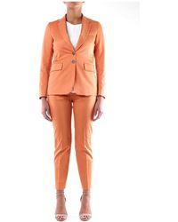 Mauro Grifoni Gg23000127 Suit - Arancione