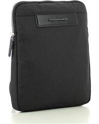 Piquadro Flat Bag - Noir