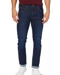Lee Jeans Luke L719sjnk Trousers - Blauw