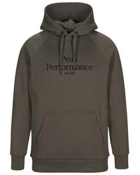 Peak Performance Hoodie G75876010-15D - Vert