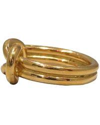 Hermès Regate Scarf Ring Amarillo